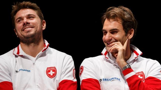 Stan Wawrinka Roger Federer