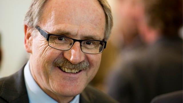Der Schwyzer Volkswirtschaftsdirektor Kurt Zibung.