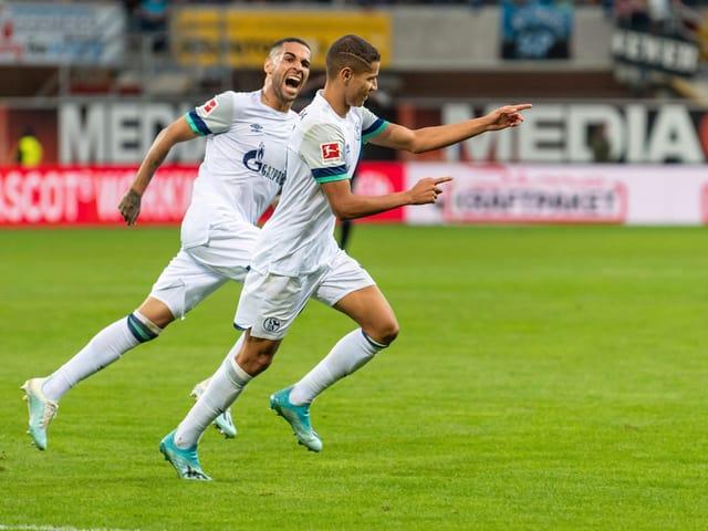 Die Schalker gewannen mit 5:1 gegen Paderborn.