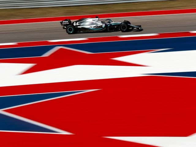 Lewis Hamilton im Mercedes.