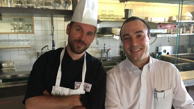 Cristian Hollatz e Mauro Taffelli.