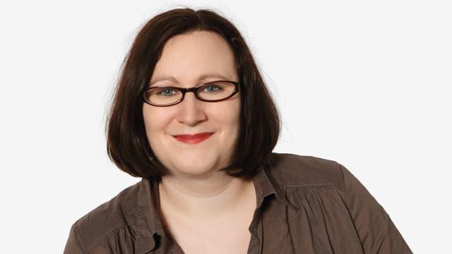 Porträt der DRS 2-Filmredaktorin.