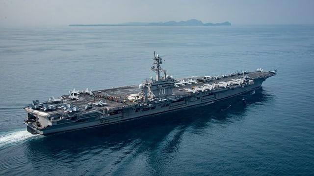 US-Flugzeugträger «USS Carl Vinson»