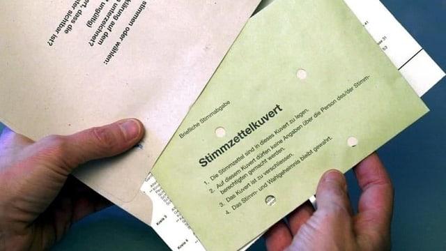 Material da votar.