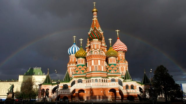 St. Basiliks Kathedrale in Moskau