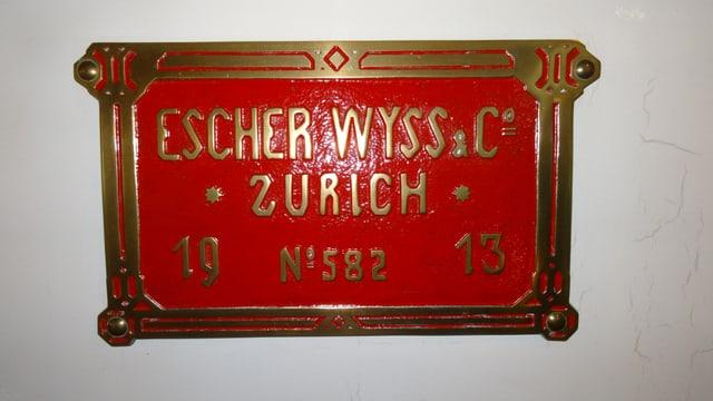 Gia il 1913 vegniva bajegià cun tecnica da qualitad Svizra.