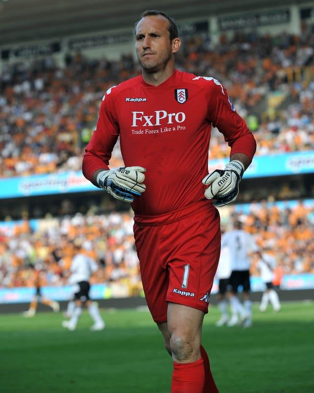 Mark Schwarzer während einer Partie bei seinem Ex-Verein Fulham.