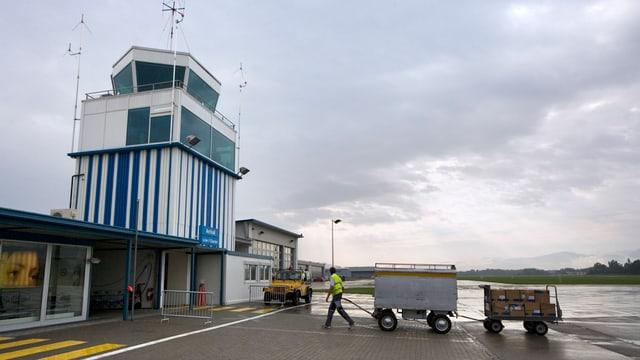 Kontrolltrum Flugplatz Altenrhein