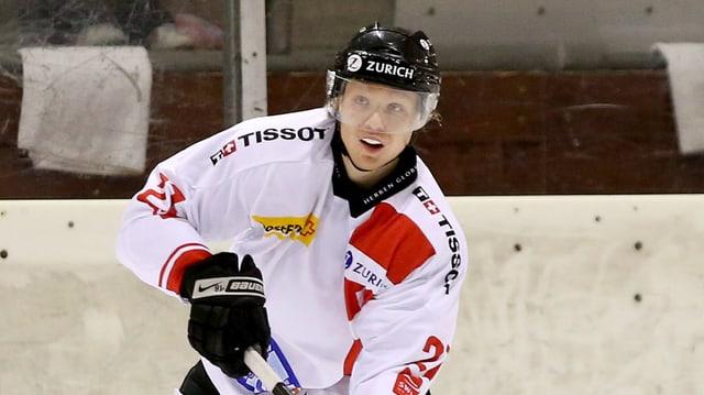 Flavio Schmutz bei einem Spiel der U20-Nati im November gegen Norwegen.