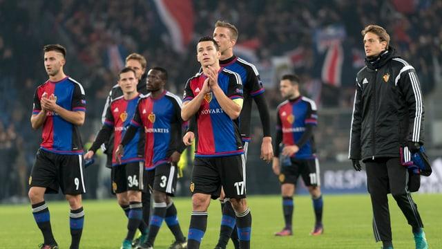 Ils giugaders dal FC Basilea.
