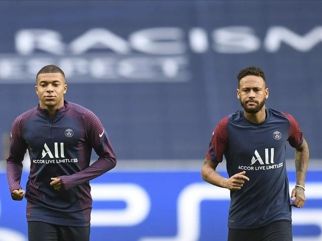 Mbappe und Neymar