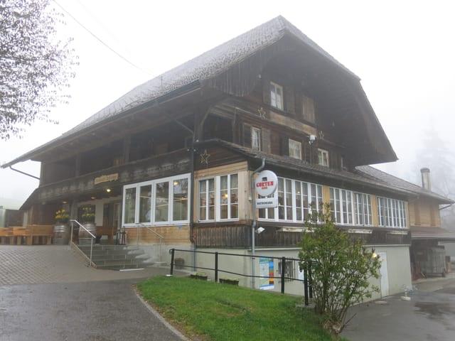 Restaurant Bütschelegg auf dem Längenberg.