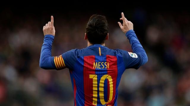 Lionel Messi trifft beim 3:0 gegen Bilbao.