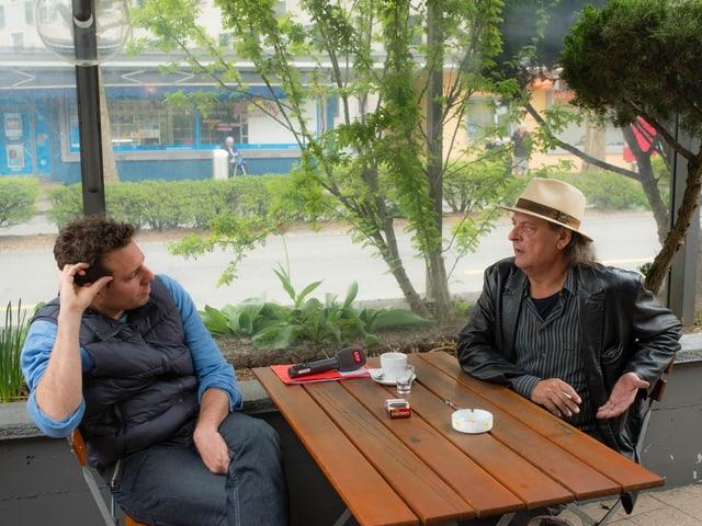 Endo Anaconda: «Ich wohne zwar in Bern, gehe aber meist hier in Ostermundigen einkaufen, weil ich die Damen an der Kasse kenne.»