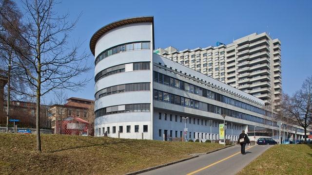 Spitalgebäude.