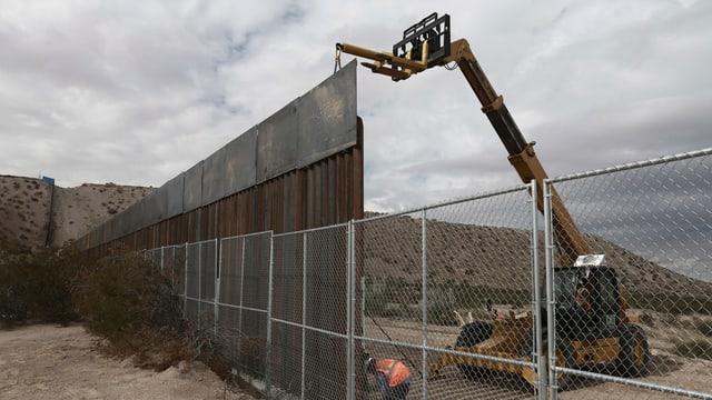 Der geplante Bau einer Mauer zwischen den USA und Mexiko löst sogar im Zuger Kantonsrat Diskussionen aus.