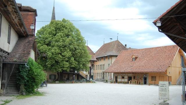 Schloss Köniz und seine Umgebung - wohl vor 500 Jahren einer der Schauplätze des Könizer Aufstandes.
