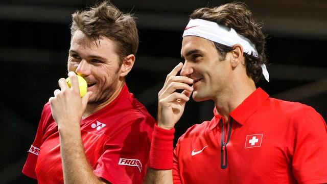 Wawrinka und Federer streben den ersten Schweizer Final bei einem Masters-1000-Turnier an.