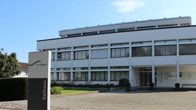 Rathaus Gossau Front