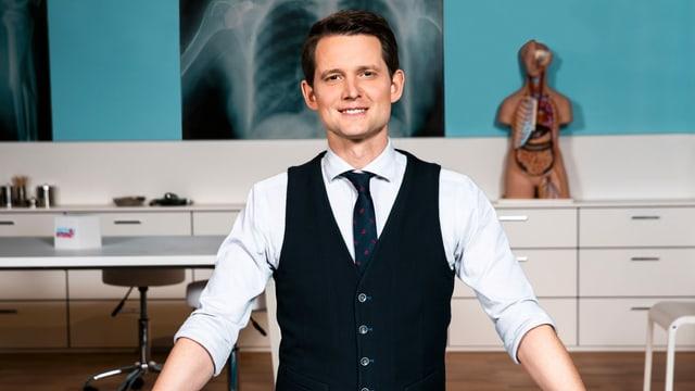 Fabian Unteregger, Moderator «Ärzte VS Internet».