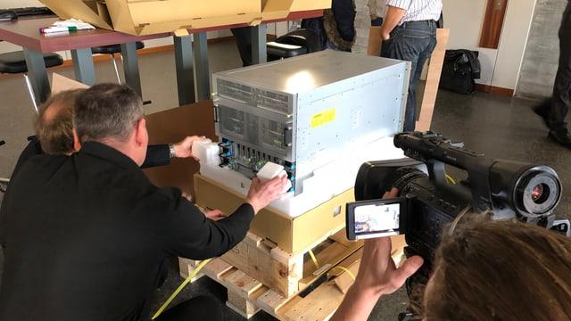 Der Supercomputer der HSG.