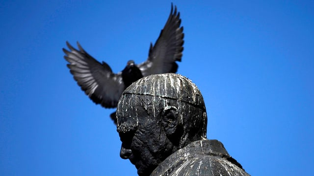Statue des Kardinals Jose Maria Caro