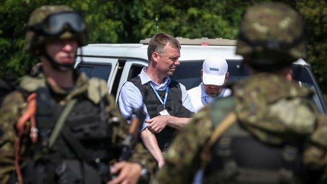 ¨Der Vize-Chef der OSZE-Mission in der Ukraine, der Schweizer Alexander Hug.