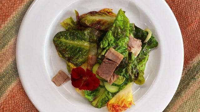 Salatteller.