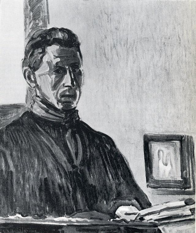 Turo Pedretti - Autoportret 1945