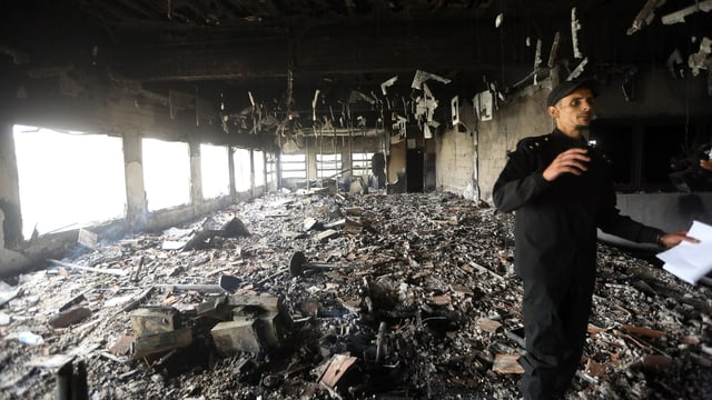 14 Tote bei Anschlag auf Wahlkommission