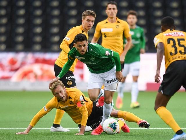 In der 3. Hauptrunde des Cups kommt es zum Duell YB gegen St. Gallen.