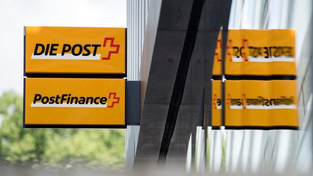 Scrittura da La Posta e Post Finance.