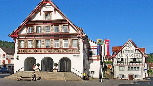Das Rathaus in Berneck