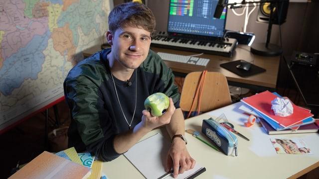 Damian Lynn ist Musiker, 28 und kommt aus Luzern