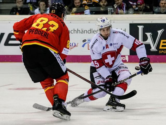 Michael Fora im Spiel gegen Deutschland.