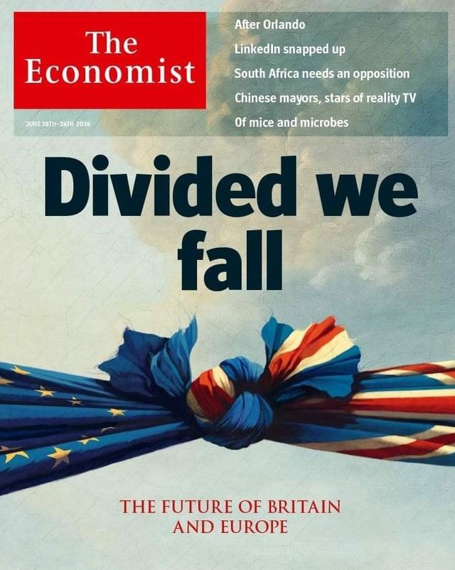 Cover des Economist