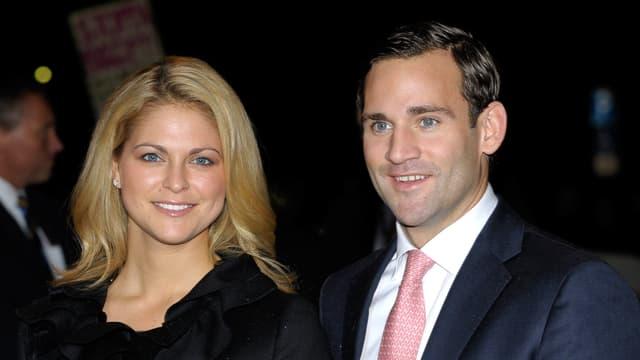 Prinzessin Madeleine und Jonas Bergström