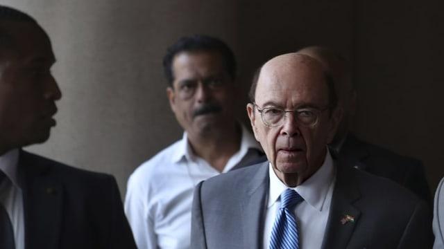 US-Handelsminister Wilbur Ross.
