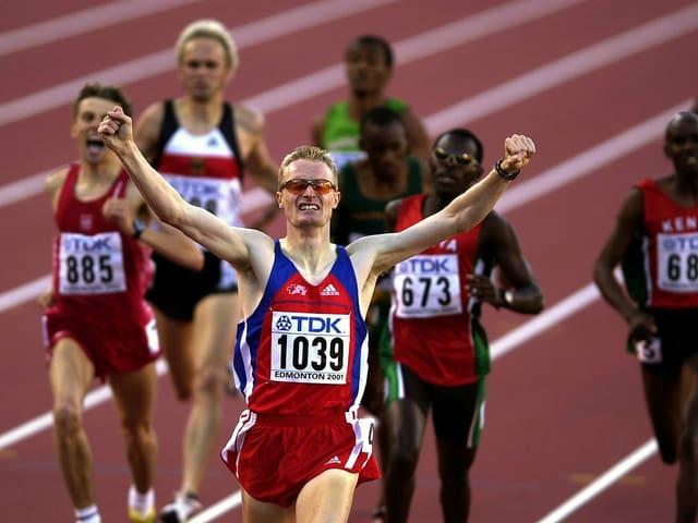 André Bucher lief 2001 überlegen zu WM-Gold.
