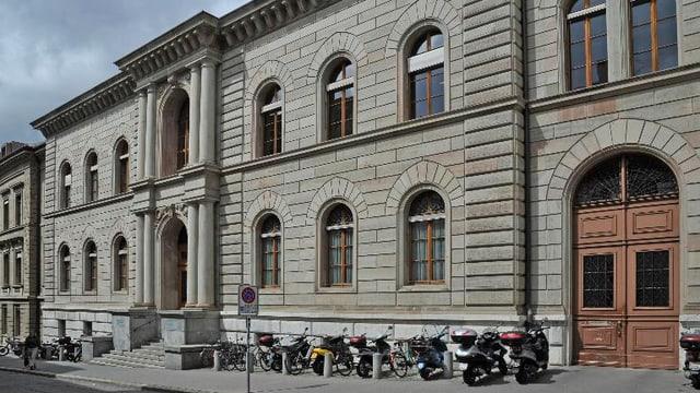 Blick auf das Gebäude des Basler Zivilgerichtes