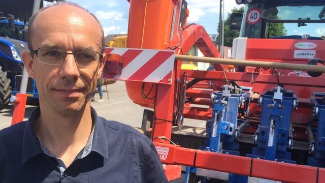 Markus Peter, zuständig für agiGIS