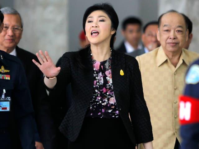 Ministerpräsidentin Shinawatra Yingluck