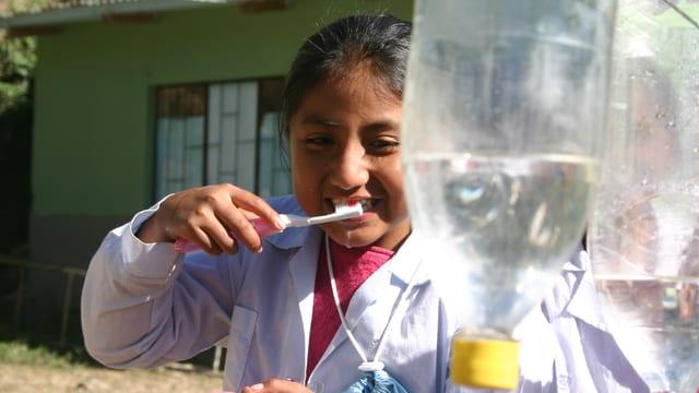 2012 wurde bei Jeder Rappen zählt für sauberes Trinkwasser gesammelt.