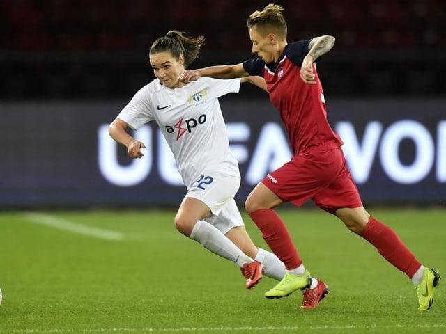 Die Frauen des FC Zürich werden auch in der neuen Women's Super Legaue die grossen Favoritinnen sein.
