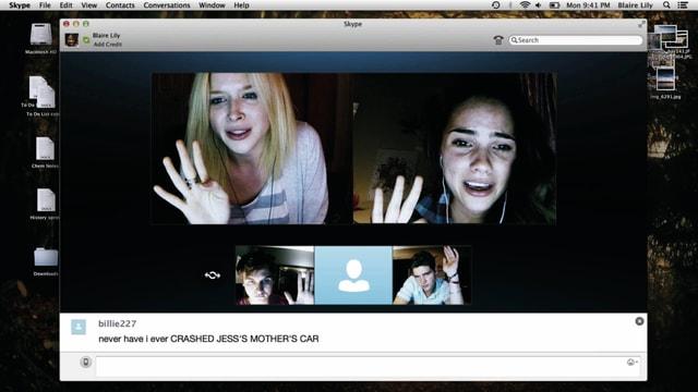 Skype-Unterhaltung