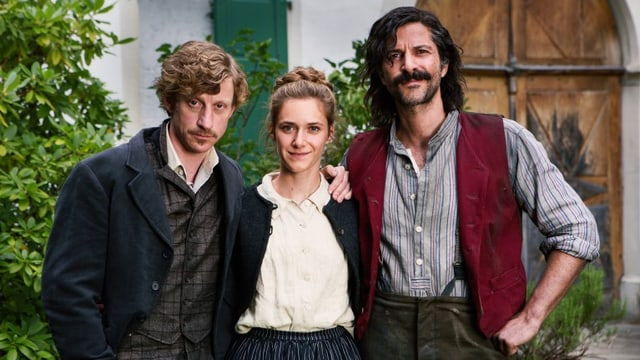Maxim Mehmet als Max, Miriam Stein als Anna, Pasquale Aleardi als Tommaso.