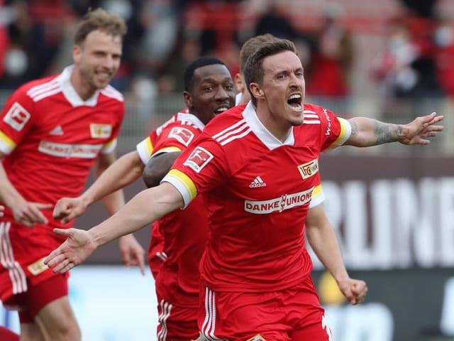 Der 33-Jährige ist in Köpenick zum Liebling der Fans geworden – nach dem Siegtreffer gegen Leipzig erst recht.
