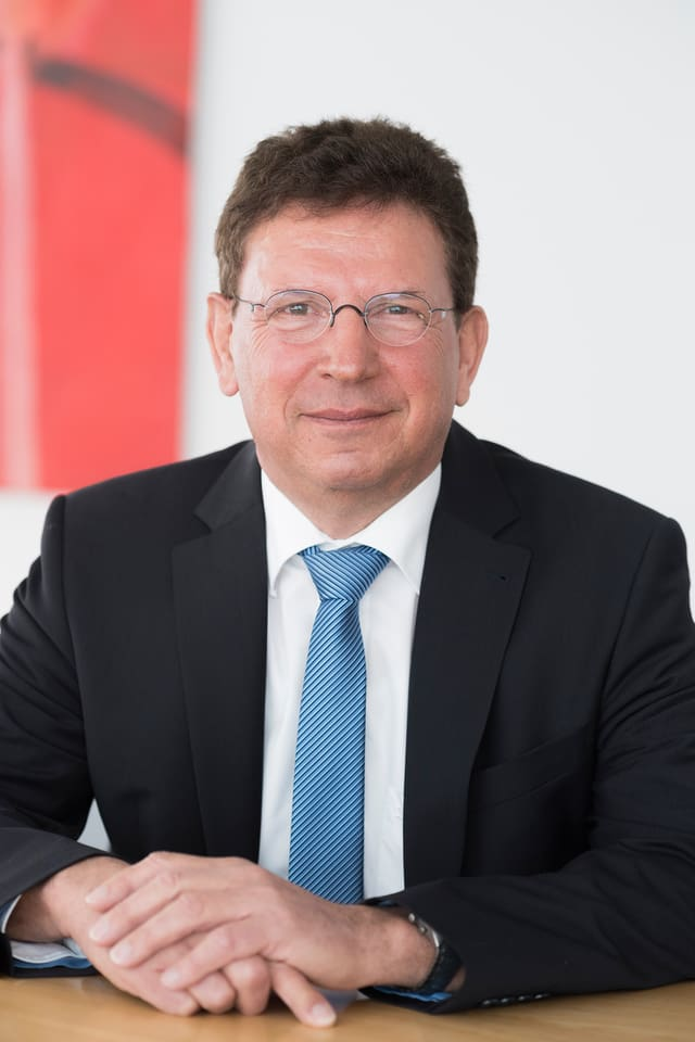Protagonist Siegfried Gerlach