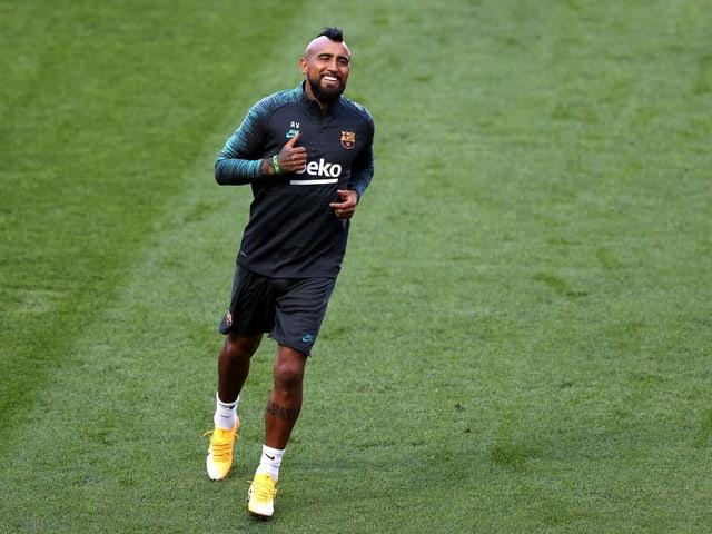 Arturo Vidal wird neu für Inter Mailand auflaufen.