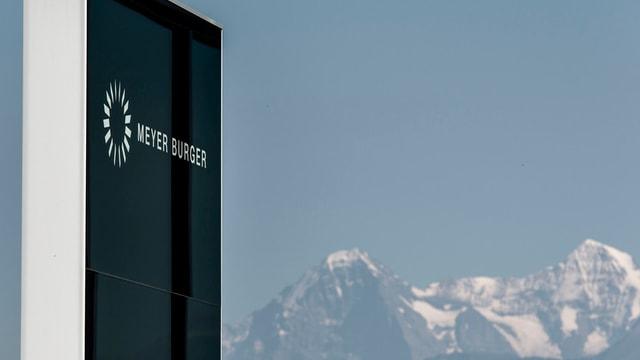 Das Firmenlogo von Meyer Burger